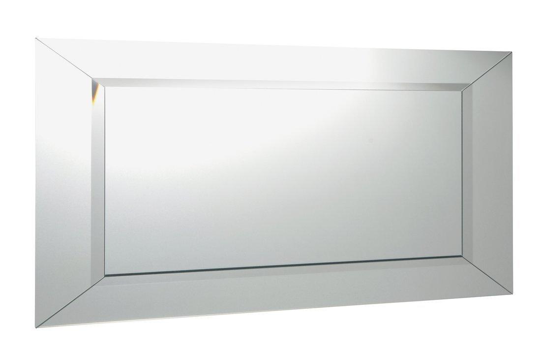 ARAK zrcadlo s lištami a fazetou 100x50cm