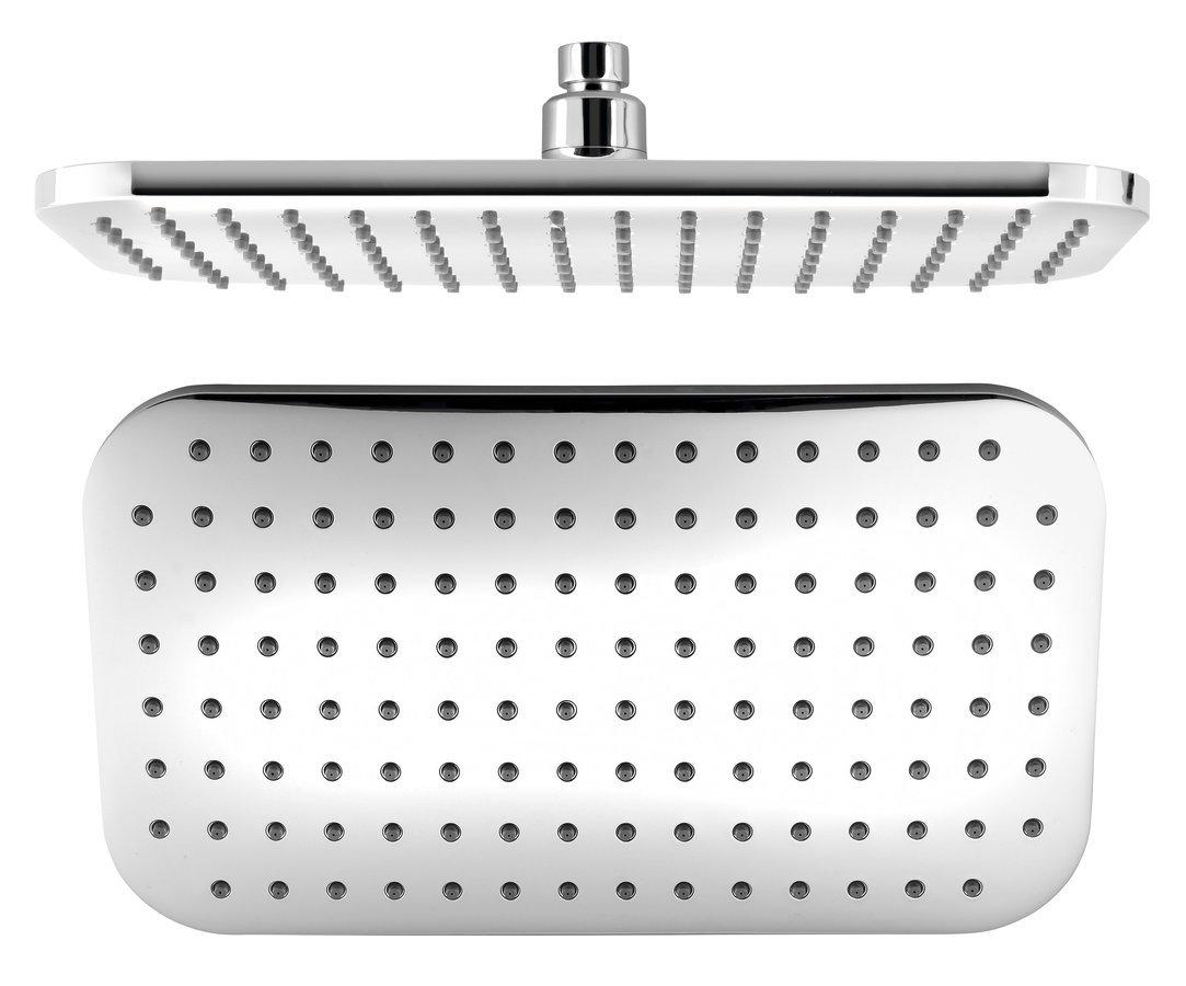 Hlavová sprcha, 200x350mm, ABS/chrom