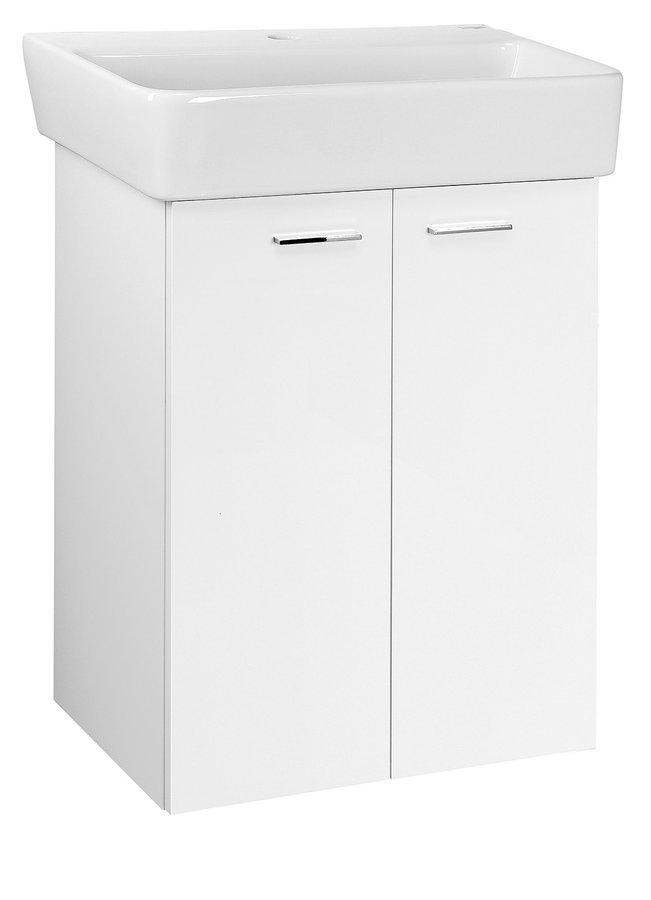 ZOJA umyvadlová skříňka 56x63x35,6cm, bílá