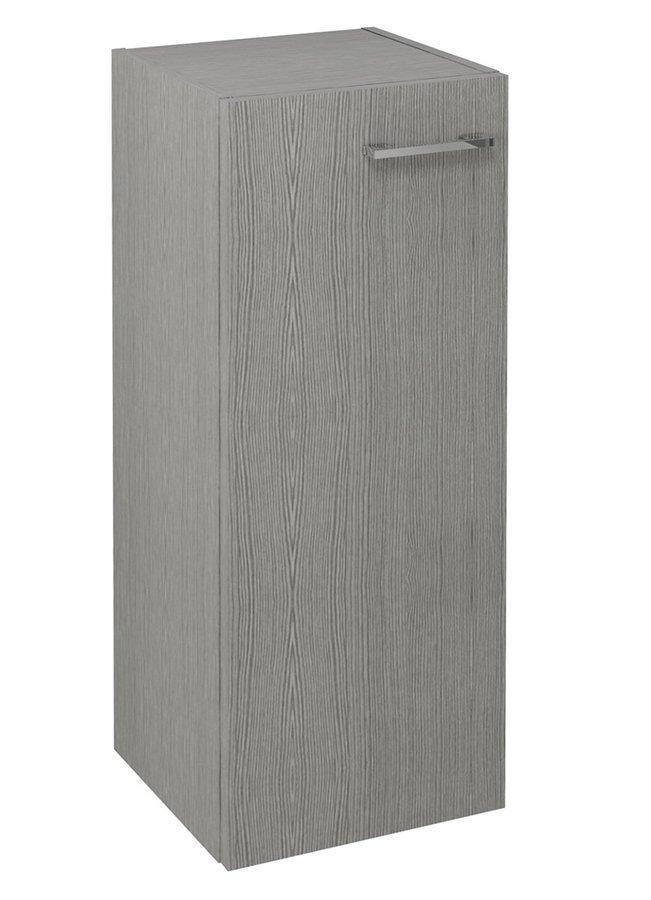 ESPACE skříňka 35x94x32cm, 1x dvířka, levá/pravá, dub stříbrný