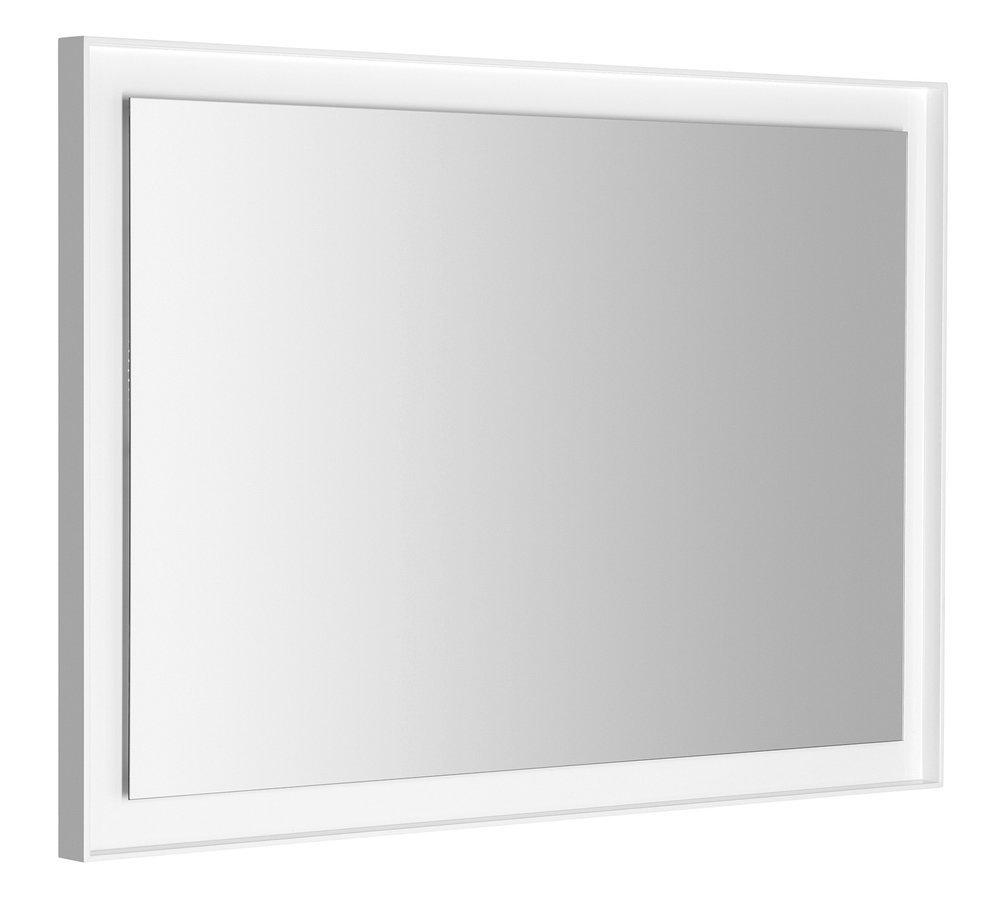 FLUT LED podsvícené zrcadlo 1000x700mm, bílá