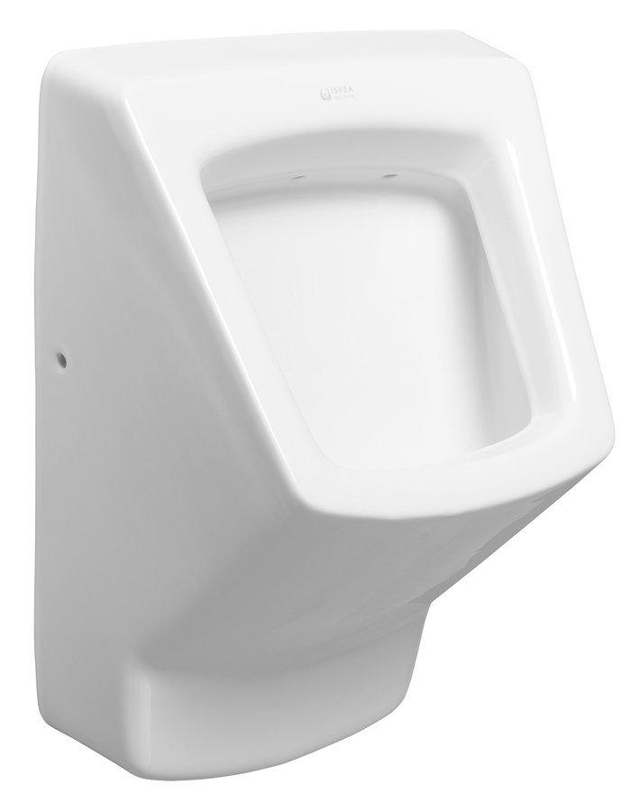 PURITY urinál se zakrytým přívodem vody, 38x53,5 cm