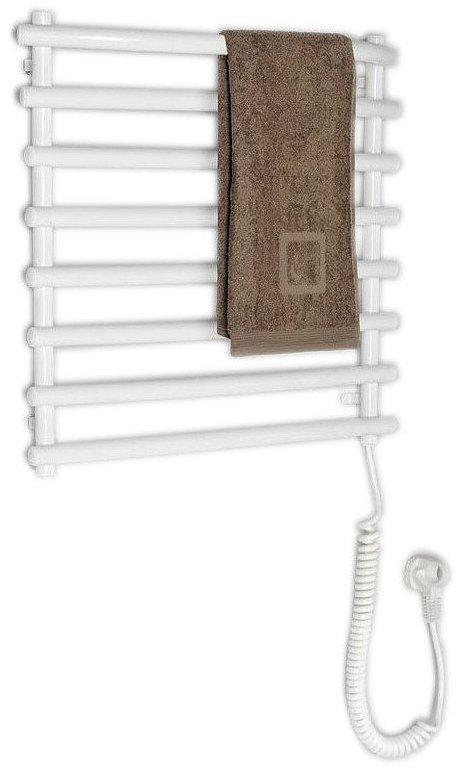 Elektrický sušák ručníků, 570x465 mm, 72 W, bílý