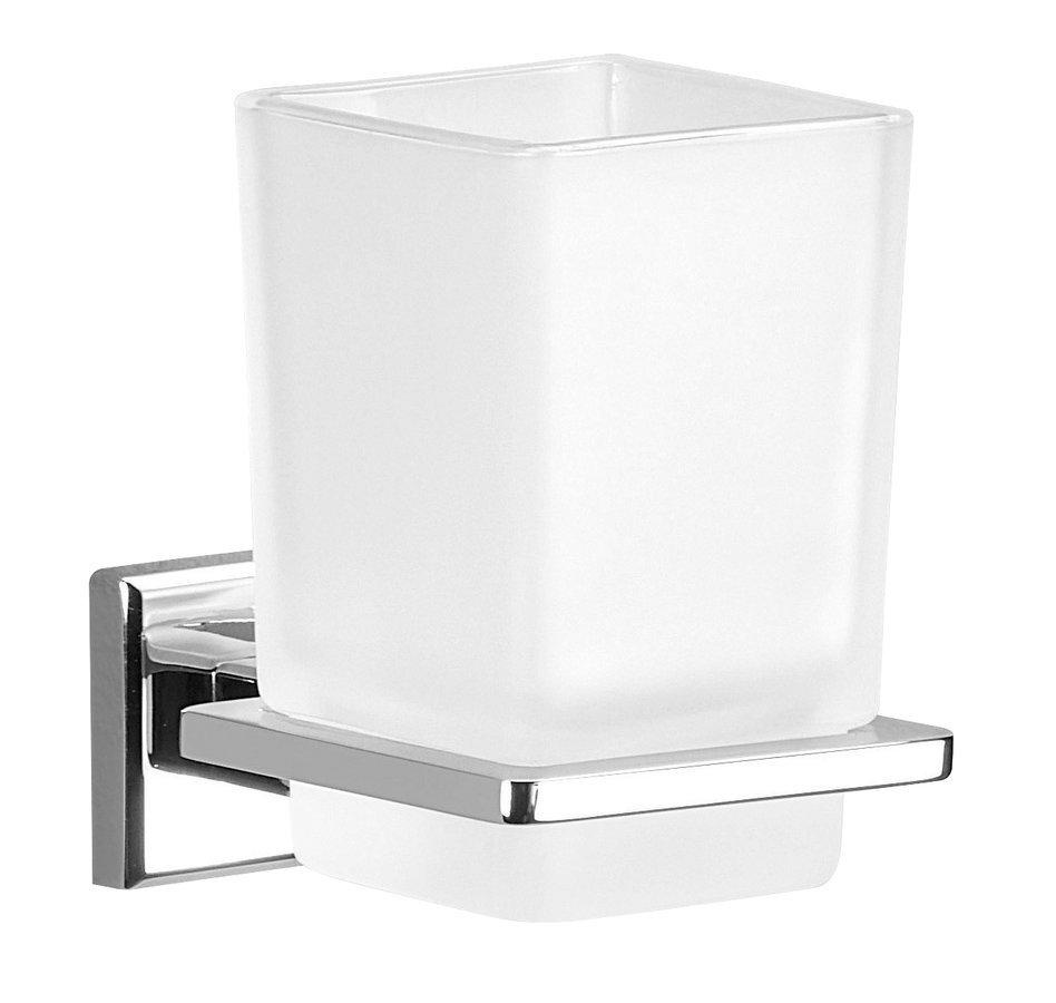 COLORADO sklenka, chrom/mléčné sklo