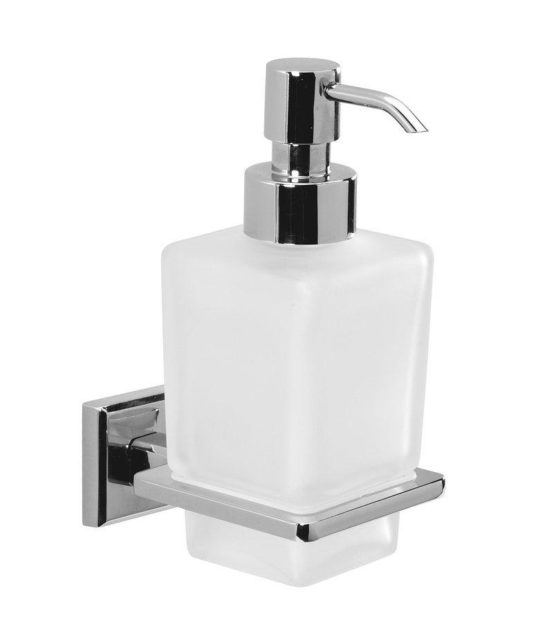 COLORADO dávkovač mýdla, chrom/mléčné sklo