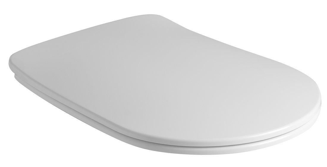 NOLITA WC sedátko SLIM Soft Close, duroplast, bílá
