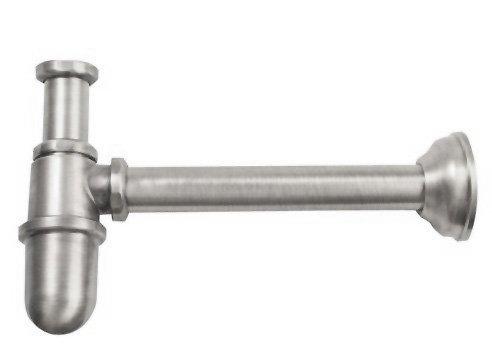 RETRO umyvadlový sifon 1'1/4, odpad 32 mm, nikl