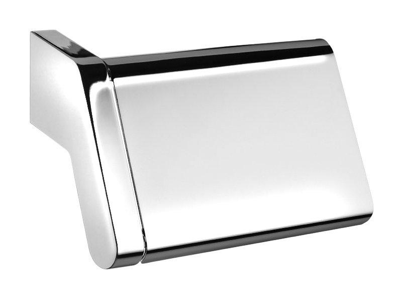 Držák toaletního papíru s krytem, chrom