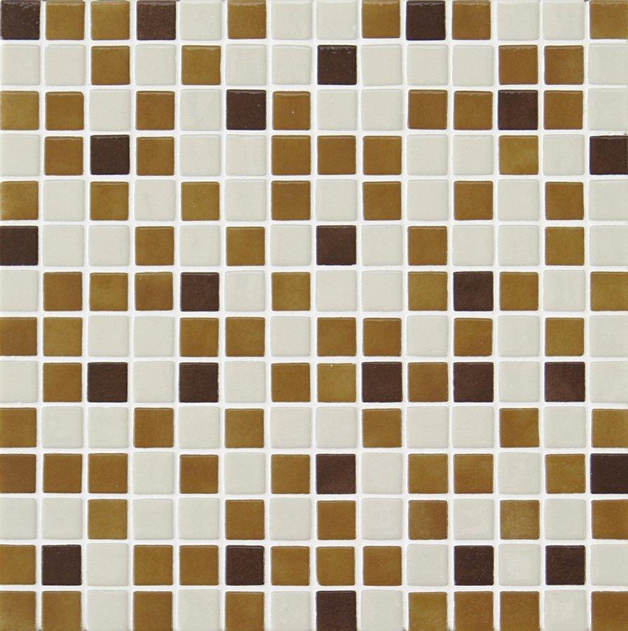 MIX plato skleněné mozaiky 2,5x2,5cm; 0,154m2