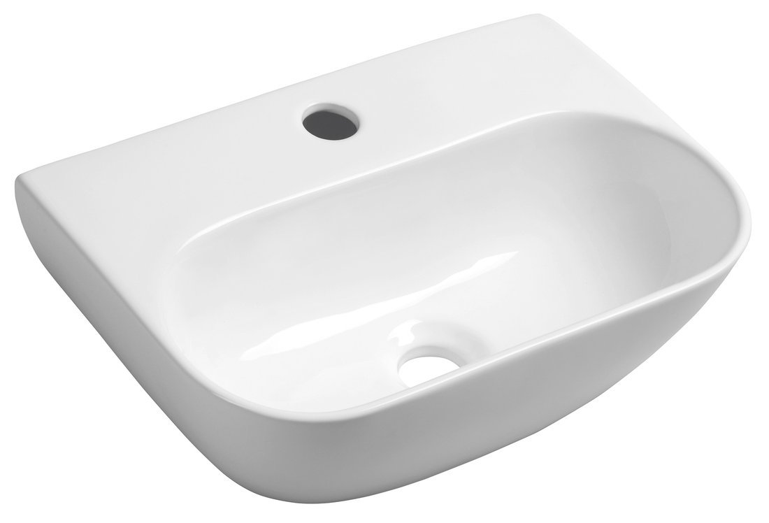 NERISSA keramické umývátko 41,5x12,5x28,5 cm