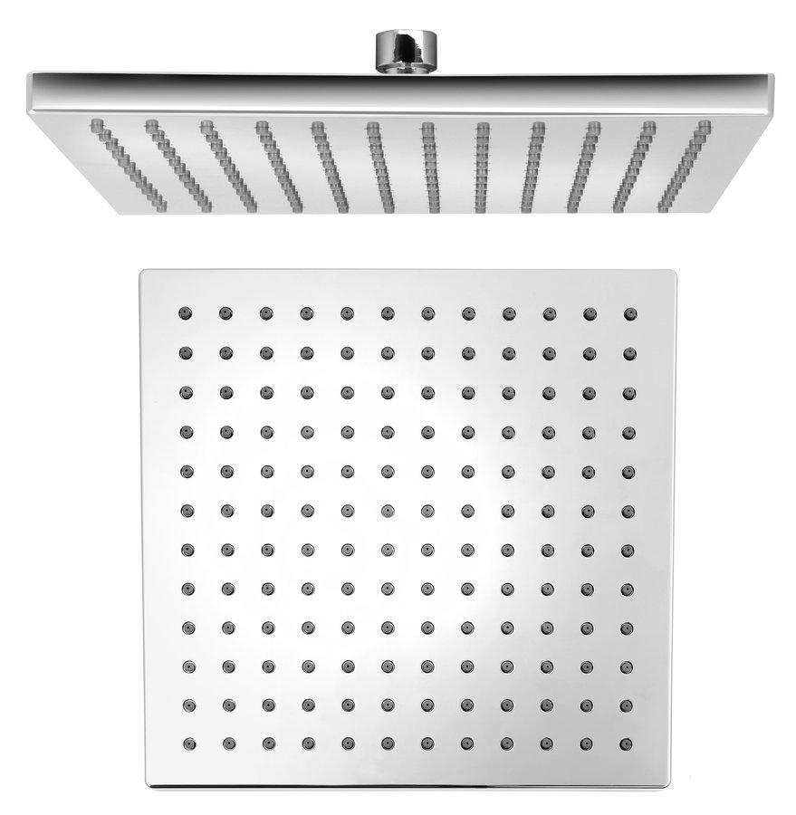 Hlavová sprcha 254x254mm, ABS/chrom