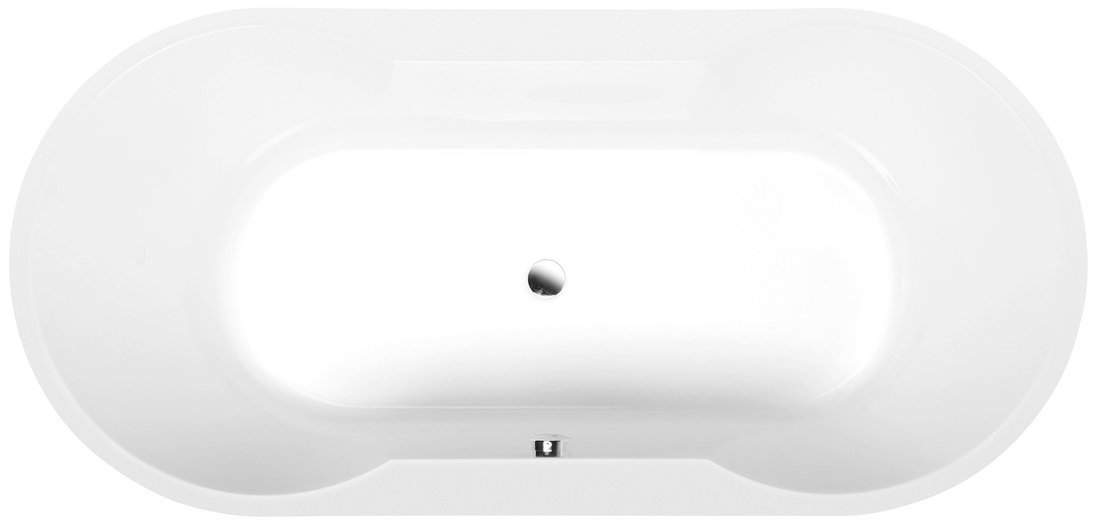 IO oválná vana 180x85x49cm, bílá