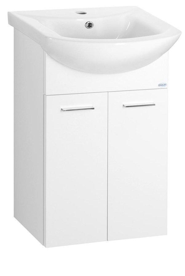 ZOJA umyvadlová skříňka 42x74x25cm, bílá