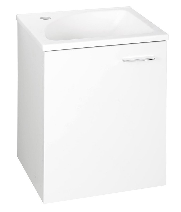 ZOJA umyvadlová skříňka 40x50x32cm, 1 dvířka, bílá