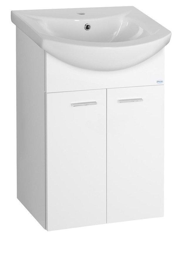 ZOJA umyvadlová skříňka 50,5x74x30cm, bílá