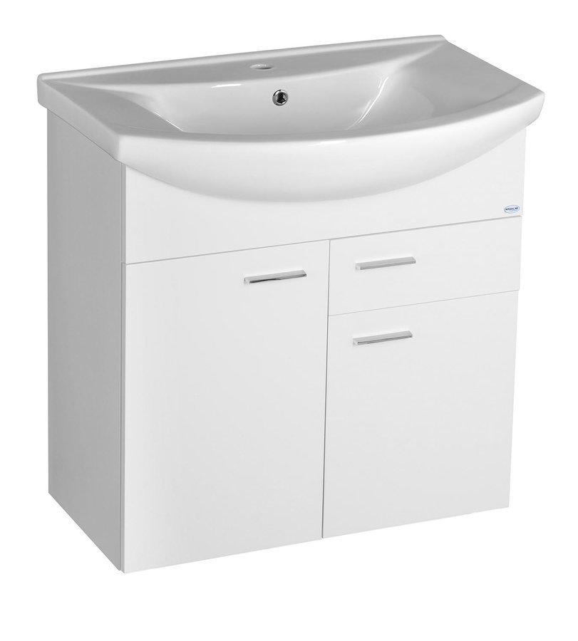 ZOJA umyvadlová skříňka 71,5x74x34cm, bílá