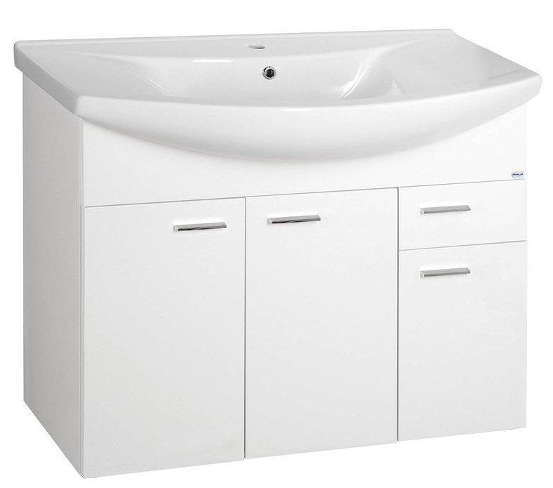 ZOJA umyvadlová skříňka 93x74x34cm, bílá