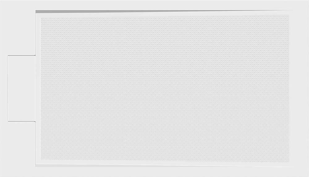 EMA sprchová vanička z litého mramoru, obdélník 140x80x3 cm