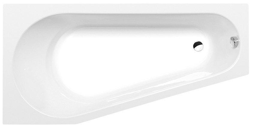 PROJEKTA L asymetrická vana 160x80x44cm, bílá