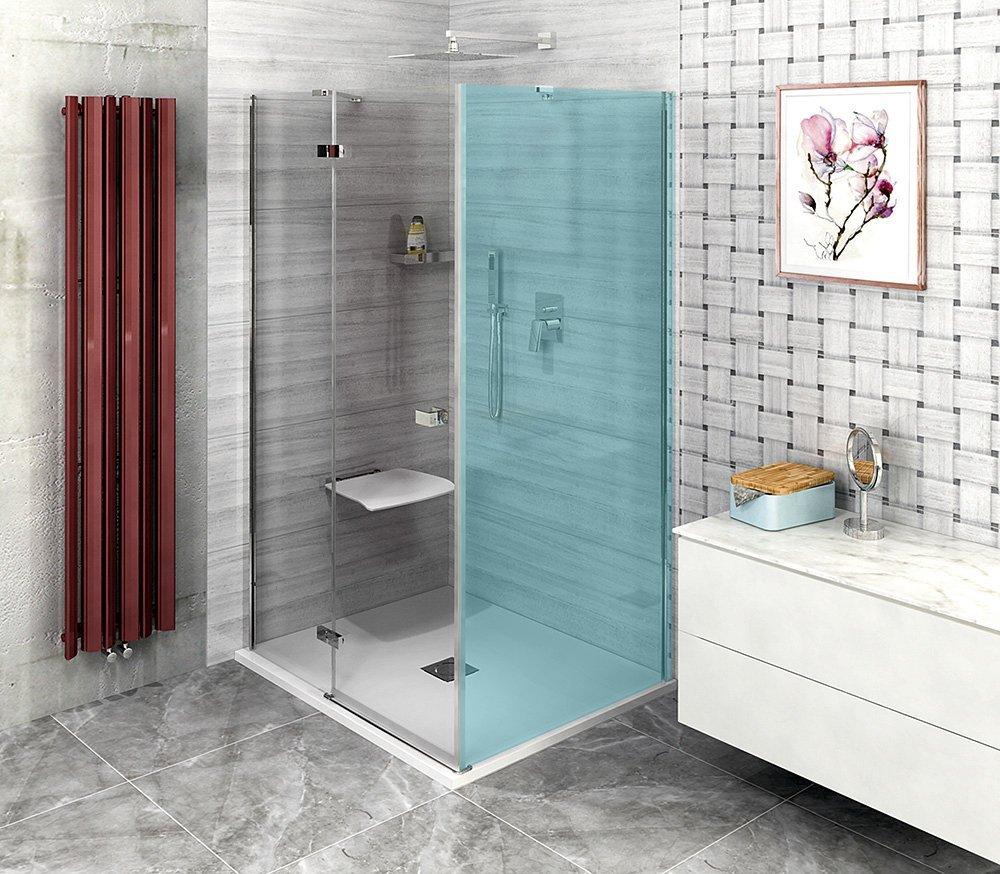 FORTIS LINE sprchové dveře 900mm, čiré sklo, levé