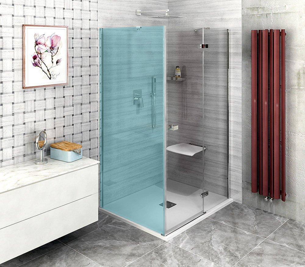 FORTIS LINE sprchové dveře 800mm, čiré sklo, pravé