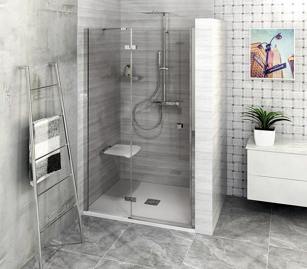 FORTIS LINE sprchové dveře do niky 1200mm, čiré sklo, levé