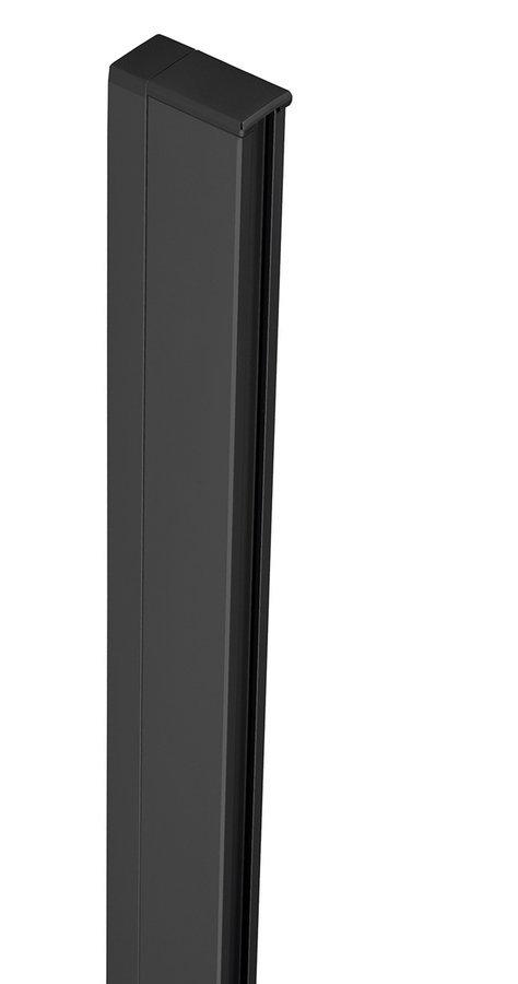 ZOOM LINE BLACK rozšiřovací profil pro nástěnný pevný profil, 15mm