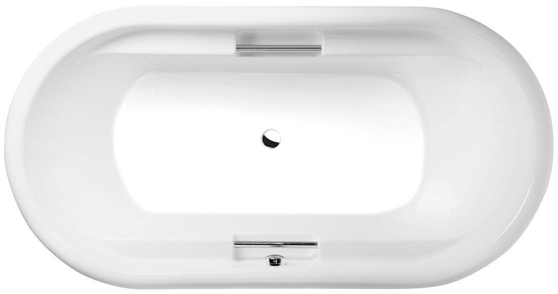 TOSCANA oválná vana 190x97x57cm, bílá