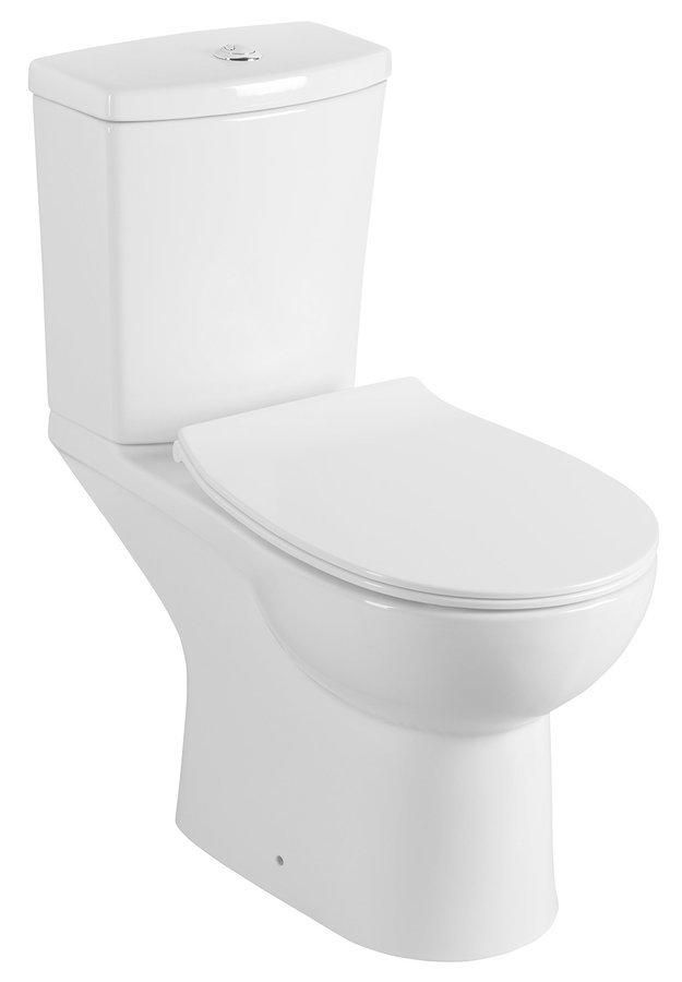 KAIRO WC kombi, zadní odpad, bílá