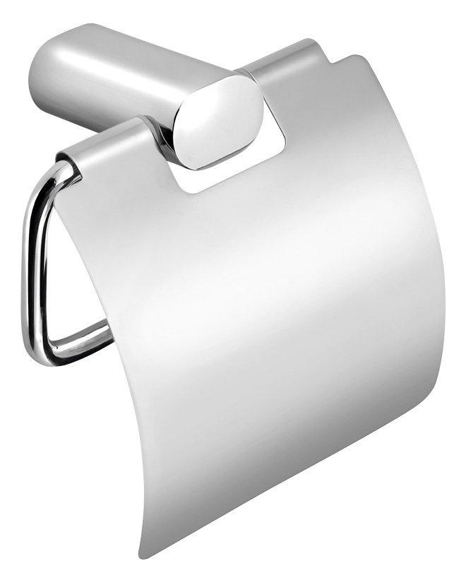 FLORI držák toaletního papíru s krytem, chrom