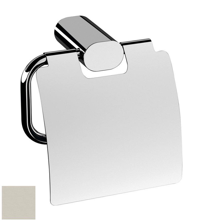 FLORI držák toaletního papíru s krytem, nikl