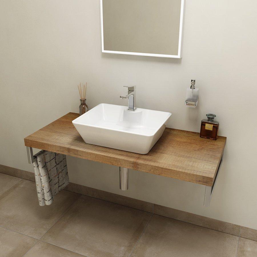 AVICE deska 110x50cm, old wood