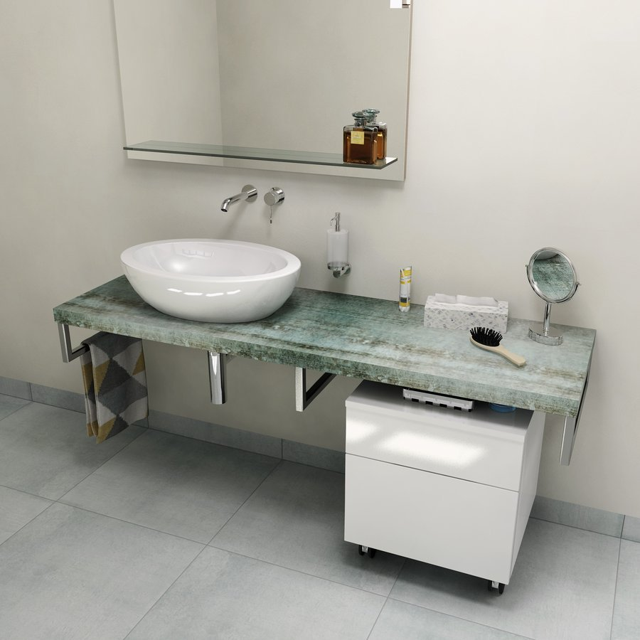 AVICE deska 120x50cm, aquamarine