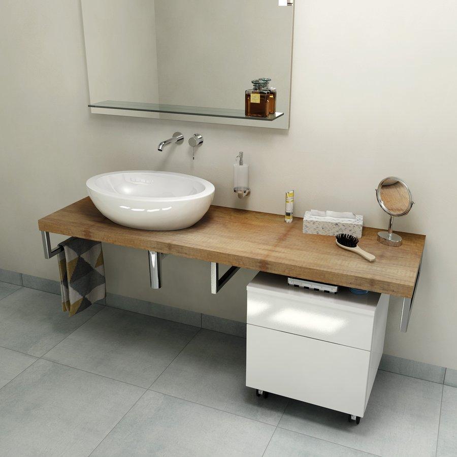 AVICE deska 160x50cm, old wood
