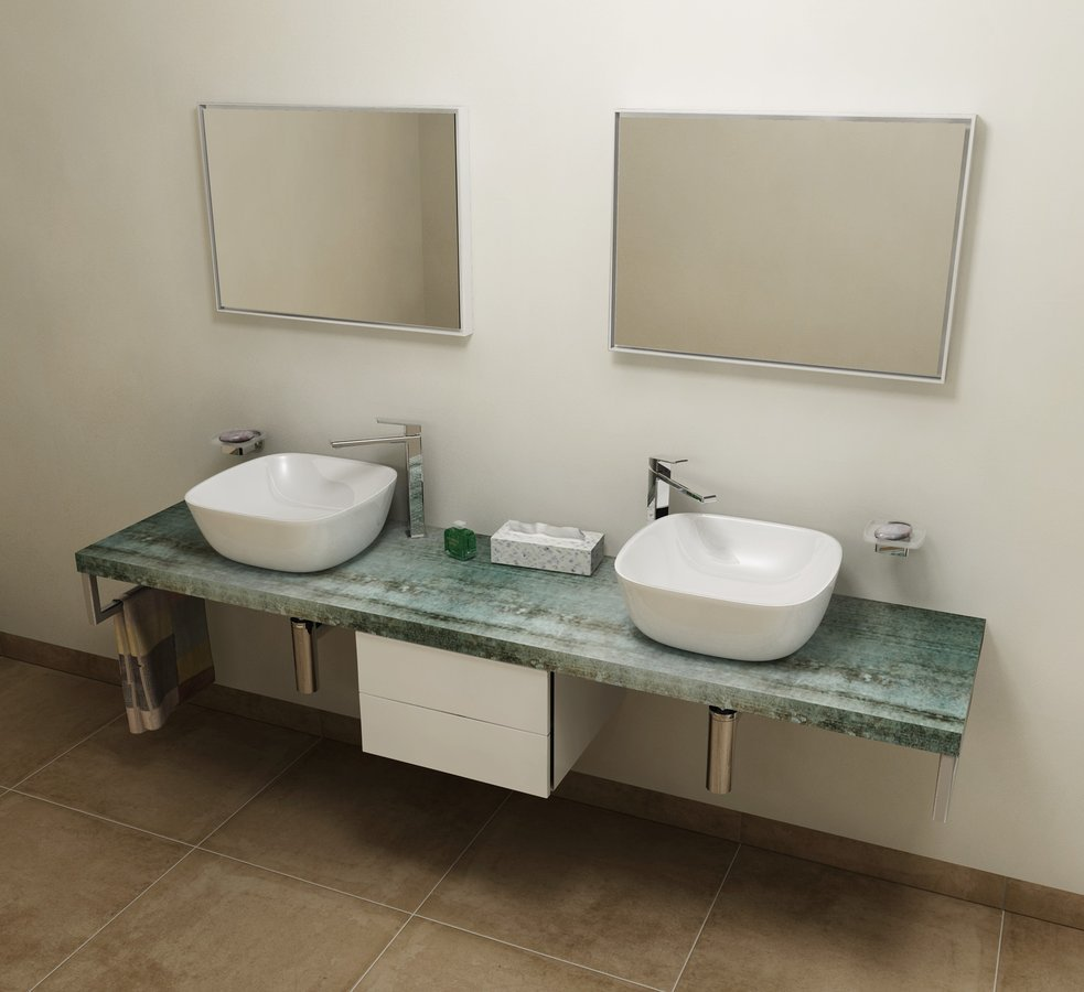 AVICE deska 170x50cm, aquamarine