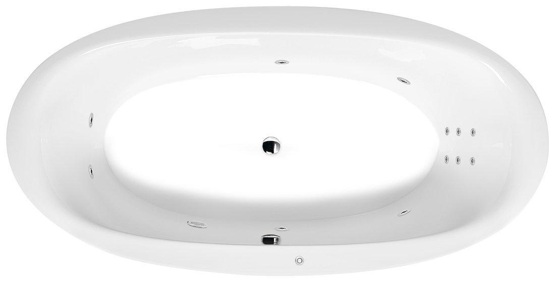 STADIUM HYDRO hydromasážní vana, 190x95x46cm, bílá