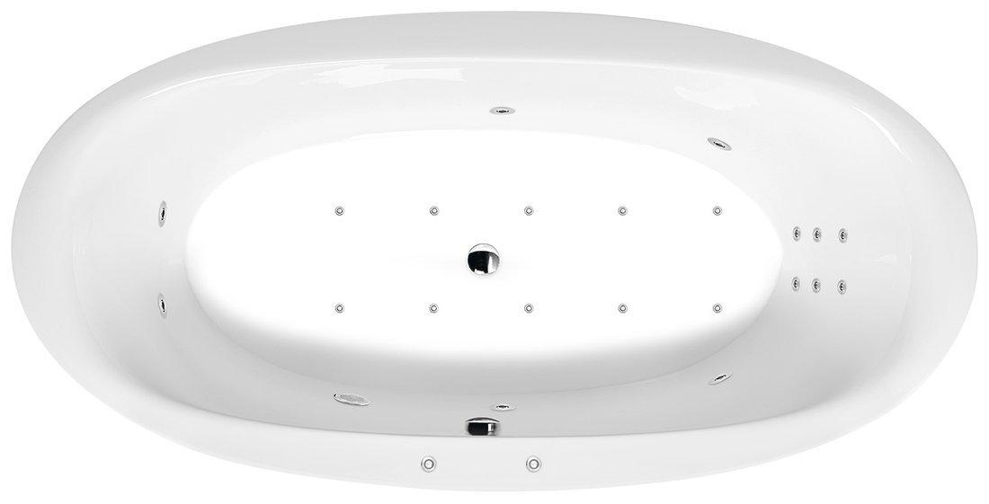 STADIUM HYDRO-AIR hydromasážní vana, 190x95x46cm, bílá