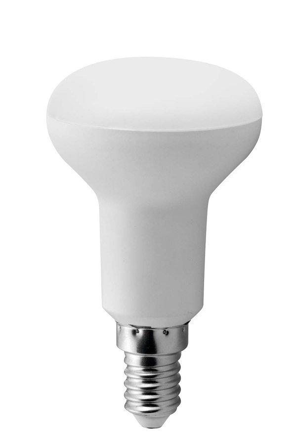 LED žárovka R50, 7W, E14, 230V, teplá bílá, 640lm