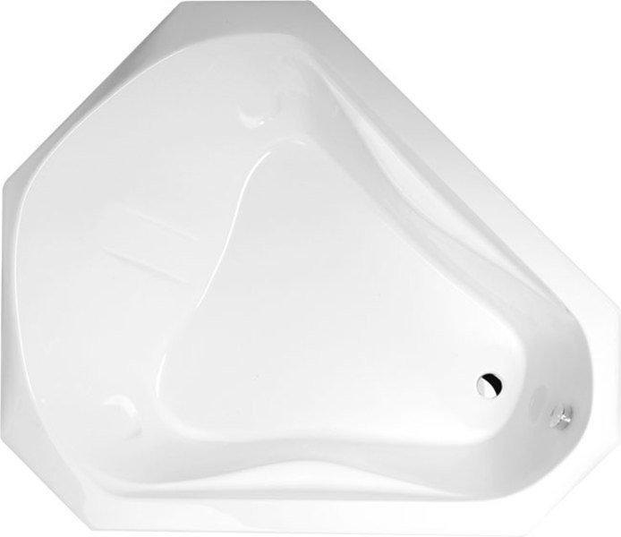 SAMORA akrylátová vana 163x139x51cm, bílá