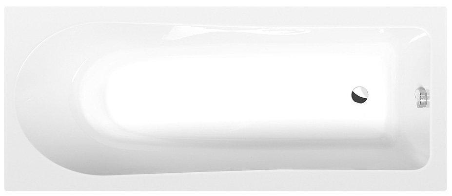 LISA obdélníková vana 160x70x47cm, bílá