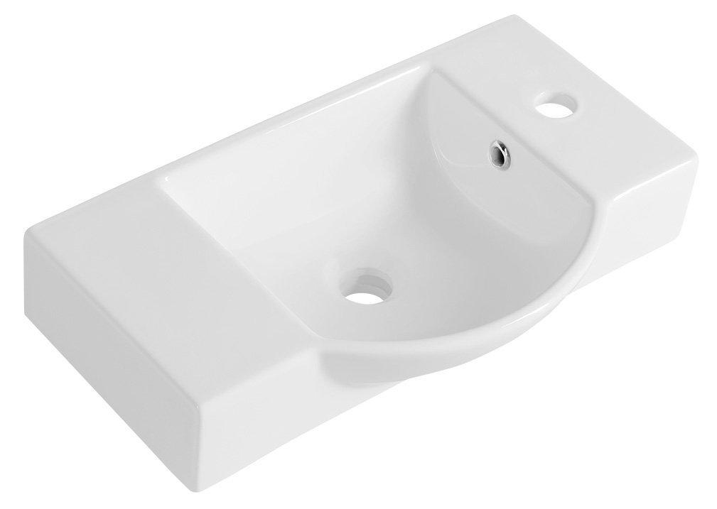 LITOS keramické umývátko 55x32 cm, bílá