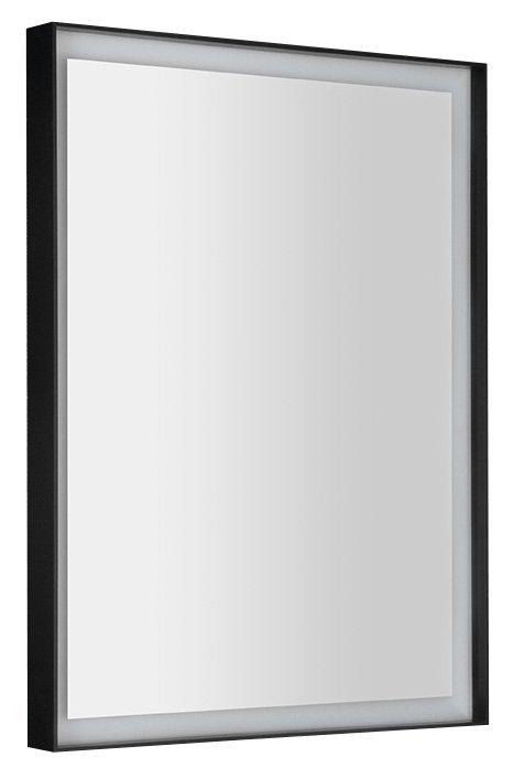 SORT LED podsvícené zrcadlo 60x80cm, matná černá