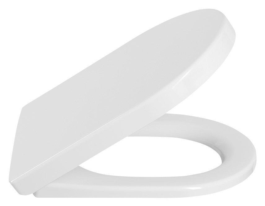 LUCY WC sedátko soft close, duroplast, bílá