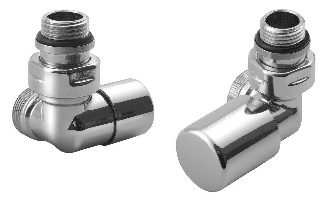 FIRST CORNER připojovací sada ventilů, pravé provedení, chrom