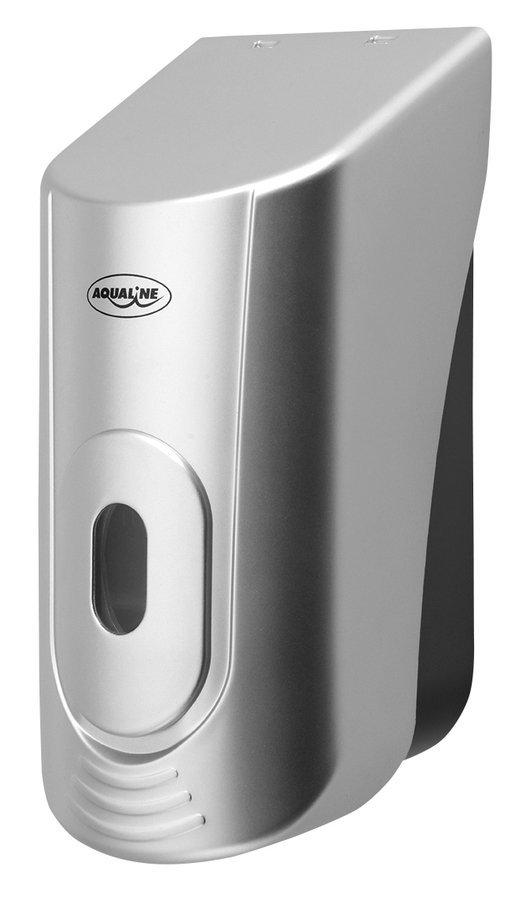 Dávkovač tekutého mýdla na zavěšení, ABS šedá, 400 ml
