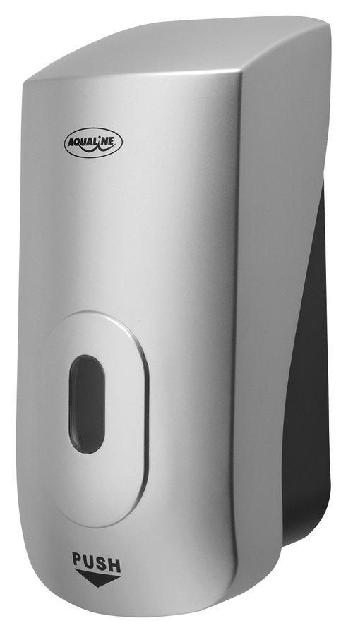 Dávkovač tekutého mýdla na zavěšení, ABS šedá, 1000 ml