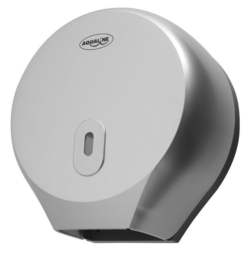 Zásobník na toaletní papír do průměru 26cm, ABS šedá
