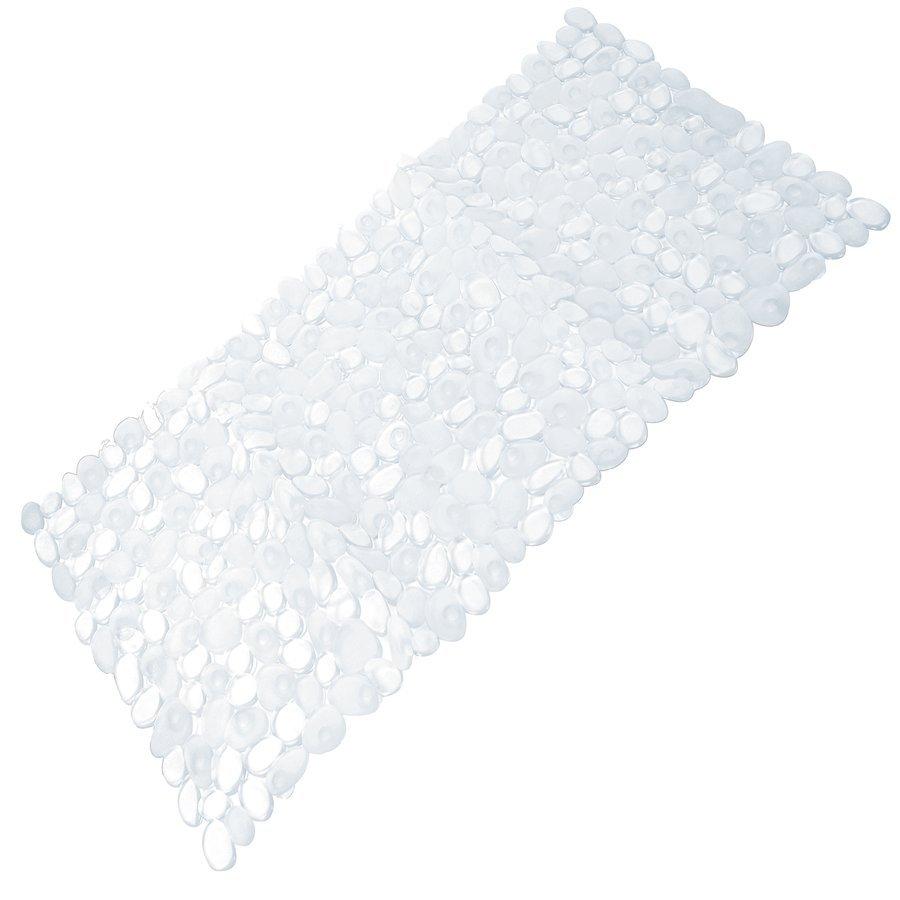 RIVER podložka do vany, 35x70 cm, s protiskluzem, PVC, čirá