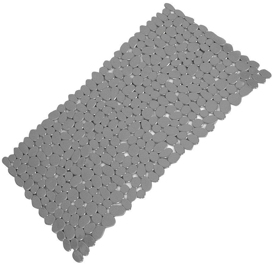 RIVER podložka do vany, 35x70 cm, s protiskluzem, PVC, šedá