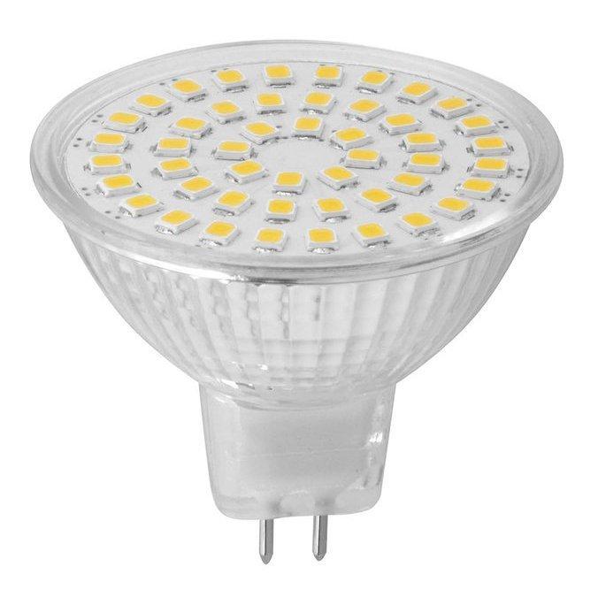 LED bodová žárovka 3,7W, MR16, 12V, denní bílá, 320lm